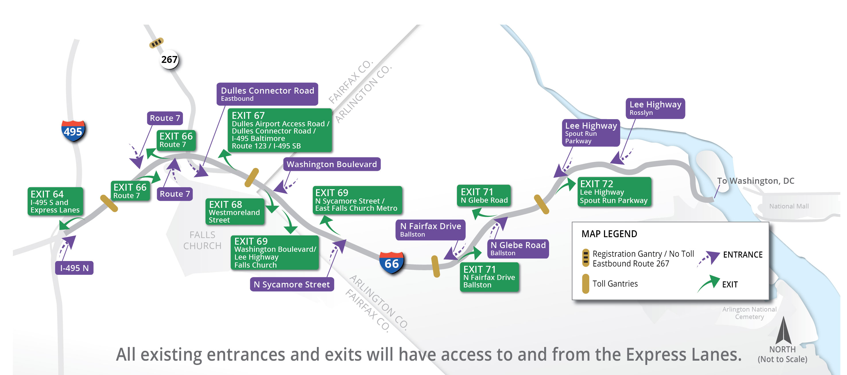 66 Express Lanes - Inside the Beltway :: Using the Lanes on toll charges in oklahoma, toll road map united states, toll roads usa map, maps with all city ok, city of ada ok, road atlas of ok, toll roads in oklahoma,