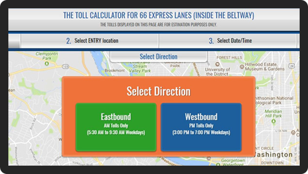 66 Express Lanes - Inside the Beltway :: Using the Lanes